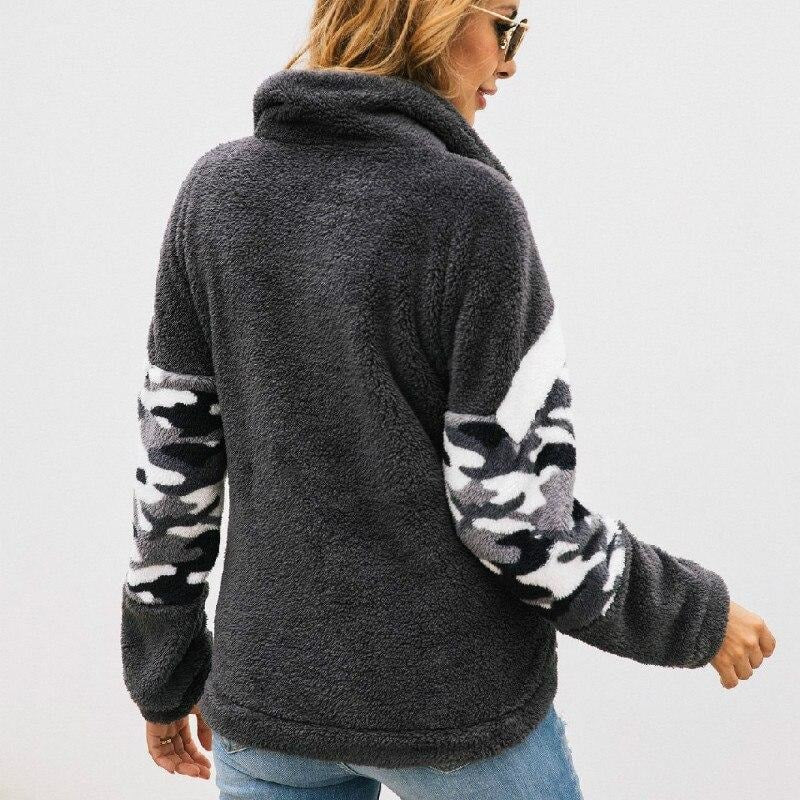 Warm Zip Front Sweater