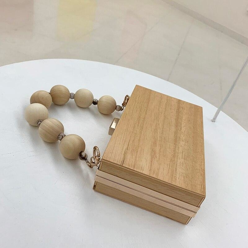Wooden Clutch - At Boujee's