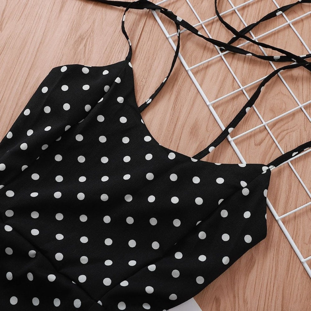 Zadie Polka Dot Dress