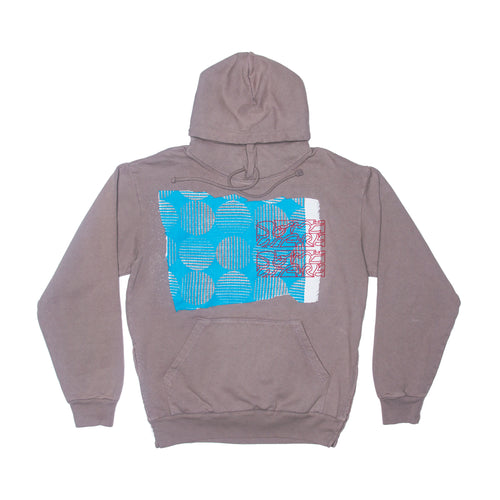 Someware X Turquoise Hooded Sweatshirt