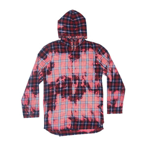 Vlone X Clot Hooded Flannel