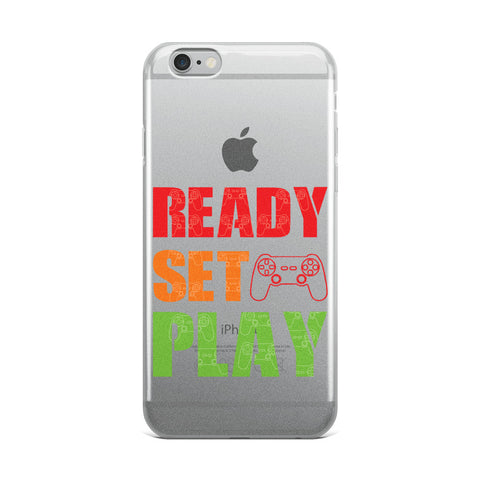 Ready Set Play iPhone Case