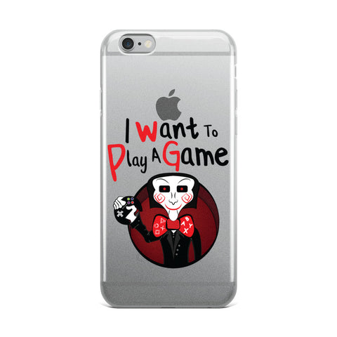 I want to play a game iPhone Case
