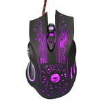 Epic Professional Wired LED Gamer Mouse