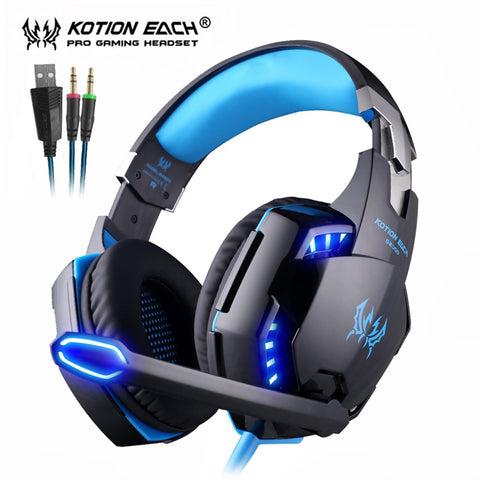 KOTION EACH EPIC Gaming Headset with LED lights