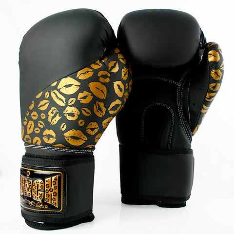 Punch Womens Boxing Gloves Lips