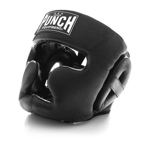 Punch Trophy Getters Full Face Head Gear - Black