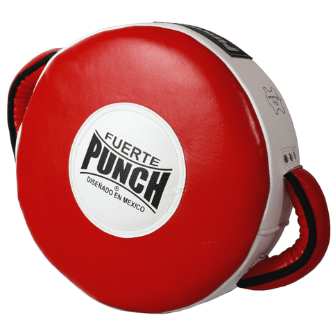 Punch Mexican Fuerte Round Shield
