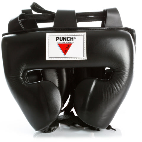 Mexican Ultra Fuerte Boxing Headgear - Black