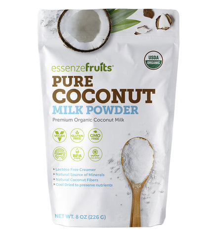 pure organic coconut milk powder