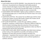 New Essenzefruits Superfood Plant Based Milk & Coffee Creamer - Unsweetened  | Omegas 3, 6 and 9 helps adaptive Immune System | Innovation | Non-GMO | MCT Oil | Keto | Paleo | Vegan - 8 oz Bag - EssenzeFruits Essenze Fruits Natural Superfood Organic Gluten Free Vegan super food