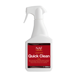 NAF Leather Quick Clean - Gilberts Australia