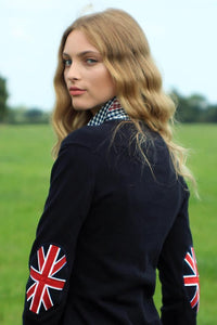 Chillout Union Jack Patch Jumper - Gilberts Australia