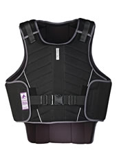 HARRY HALL BODY PROTECTOR ZEUS CHILD BLACK - Gilberts Australia