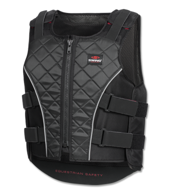Swing Body Protector Zipper Black/Grey
