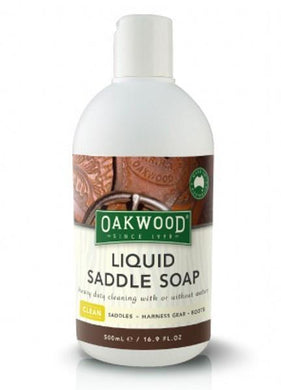 Oakwood Oakwood Liquid Saddle Soap - Gilberts Australia