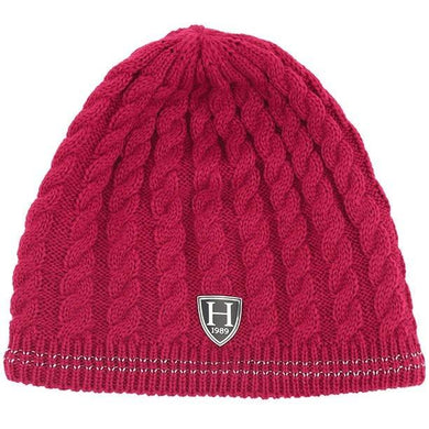Harcour Beanie One Size Winter Hat - raspberry - Gilberts Australia