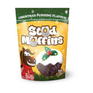 Stud Muffins - Christmas Pudding Flavour Pack of 15 - Gilberts Australia