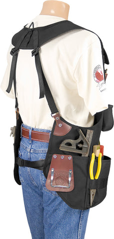 Occidental Leather 2575 - OxyPro™ Tool Fastener Work Vest Beltless System