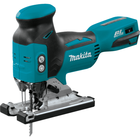 Makita XVJ01Z 18V LXT® Lithium‑Ion Brushless Cordless Barrel Grip Jig Saw, Tool Only