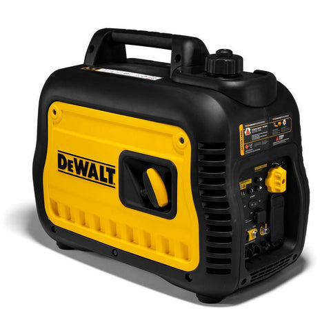 DEWALT PMC172200 DXDNI2200 Ultra Quiet 2200-Watt Inverter Generator with Auto Throttle & CO-PROTECT Technology, 50 State