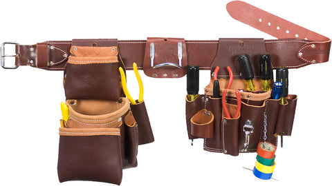 Occidental Leather 5036 Leather Pro Electrician Tool Belt Bag Set