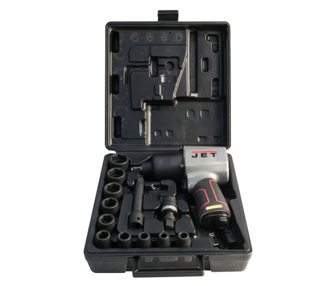 "Jet JAT-104K 1/2"" Impact Wrench Kit W/ Impact Sockets"