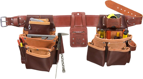 Occidental Leather 5089LH Seven Bag Pro Framer Framing Tool Bag Belt LEFT HAND
