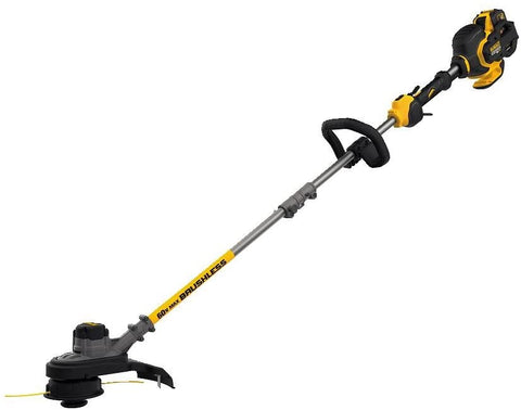 DeWalt DCST970X1S 15 in. 60-Volt MAX Lithium-Ion Cordless FLEXVOLT Brushless String Grass Trimmer with One 3.0 Ah Battery and Charger