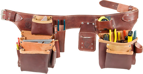 Occidental Leather 5191 Pro Carpenter's 5 Bag Toolbelt Assembly