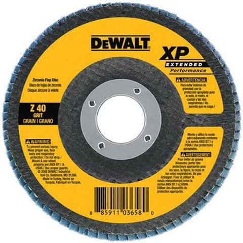 DEWALT DW8251 4 1/2-Inch by 7/8-Inch 60g XP Flap Disc