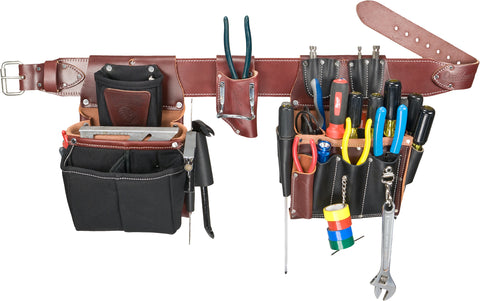 Occidental Leather 5590 Commercial Electricians Tool Belt Bag Set