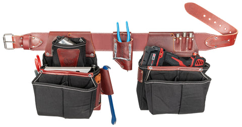Occidental Leather 8087 20-Pocket OxyLights Driver Set Tool Belt & Bags USA