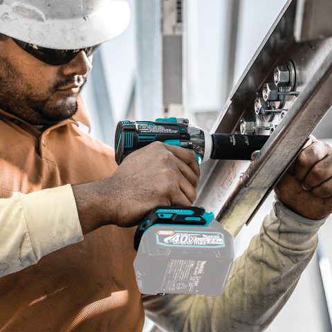 "Image of Makita GWT05Z 40V max XGT® Brushless Cordless 4‑Speed 1/2"" Sq. Drive Impact Wrench w/ Detent Anvil, Tool Only"