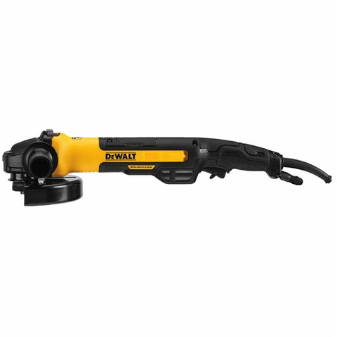 Dewalt DWE43840CN Angle Grinder With Rat Tail Kickback Brake, 7""