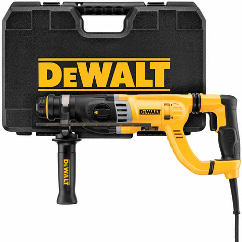 "DeWalt D25263K 1-1/8"" D-Handle SDS Rotary Hammer With SHOCKS"