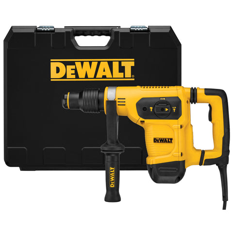 "DeWalt D25481K 1-9/16"" SDS MAX Combination Hammer Kit With SHOCKS"
