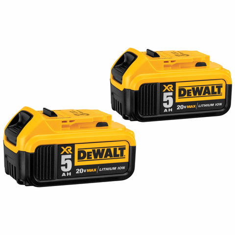 DeWalt DCB205-2 20V MAX 5 Ah Battery 2-Pack