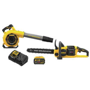 Dewalt DCKO667X1 60V MAX FlexVolt Blower And Chainsaw Combo Kit