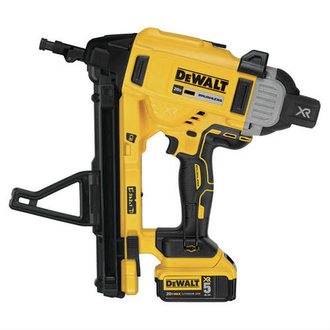 DeWalt DCN891B 20V Max* XR Cordless Concrete Nailer - Tool Only