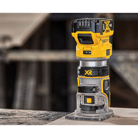 Image of DeWalt DCW600B 20V Max Compact Router