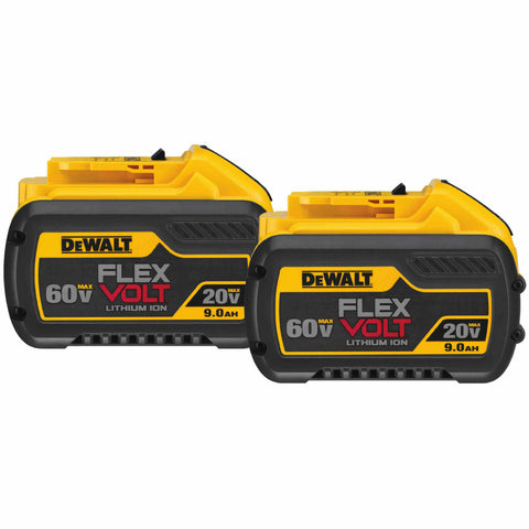 DeWalt DCB609-2 20/60V MAX Flexvolt Li-Ion Battery Dual Pack