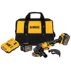 "DeWalt DCG414T2 FlexVolt 4-1/2"" - 6"" 60V Angle Grinder Kit, 2 Batteries"