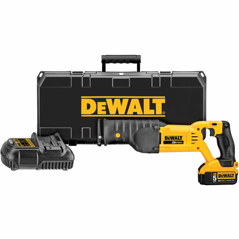 DeWalt DCS380P1 20V MAX Lithium Ion Reciprocating Saw Blade Kit With 5.0 Ah Battery