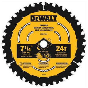 DEWALT DWA171424 7 1/4 in. 24 Tooth Circular Saw Blade