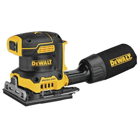 DEWALT DCW200B 20V MAX XR Brushless Cordless 1/4 Sheet Variable Speed Sander (Tool Only)