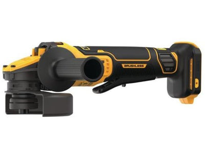 DeWalt DCG416B 20-Volt MAX Lithium Ion Cordless Brushless 4-1/2 - 5 in. Paddle Switch Angle Grinder with FLEXVOLT ADVANTAGE (Tool Only)