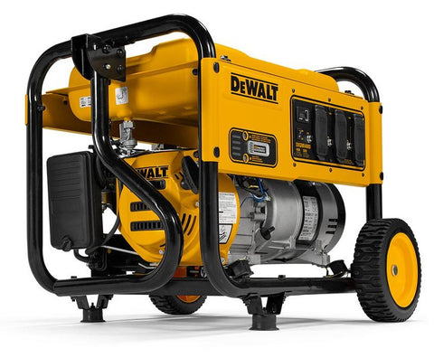 DeWalt PMC164000 DXGNR4000 4,000-Watt Gasoline Powered Manual Start Portable Generator with Premium Engine, Covered Outlets and CO Protect