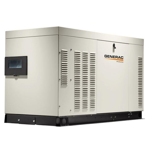 GENERAC RG04524AX Protector 45KW 3600rpm, Alum Enclosure Standby Generator (Not for sale in CA/MA)