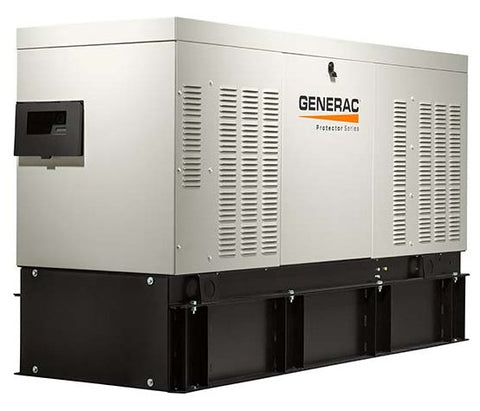 GENERAC RD05034L Protector Diesel Series 50 KW Standby Generator with Extended Tank